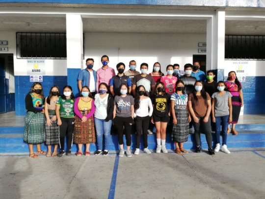 Scholarships in different communities in Guatemala