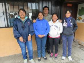 Local teachers in Ecuador