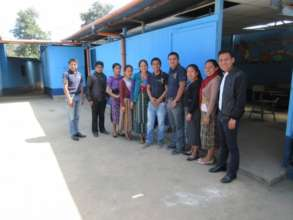 Local teachers in Guatemala