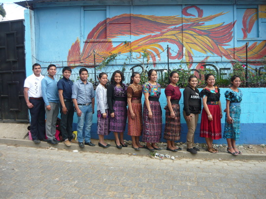 Local teachers in Guatemala