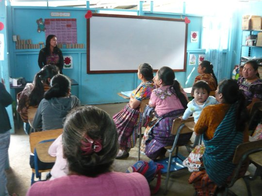 Excellent first exam results in Guatemala