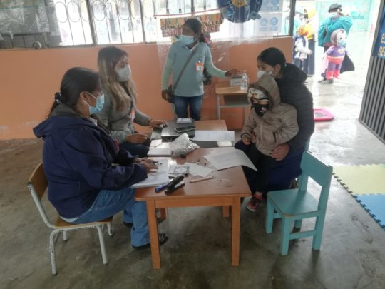 New school year starts in Ecuador