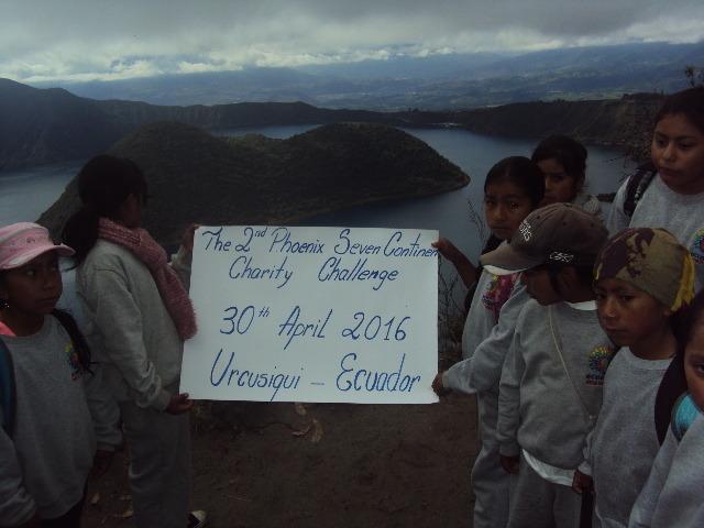 Cuicocha Lake in Ecuador - 7 Continents Challenge
