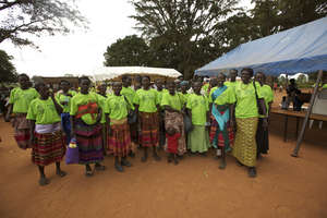 Women lead in their communities...