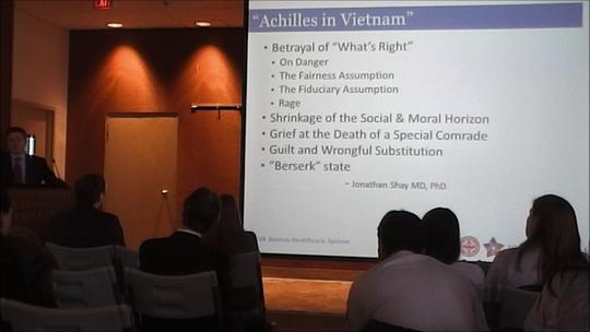 Bradly Lecture Post-Combat PTSD