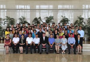 Group photo of guests at Research Launch Event
