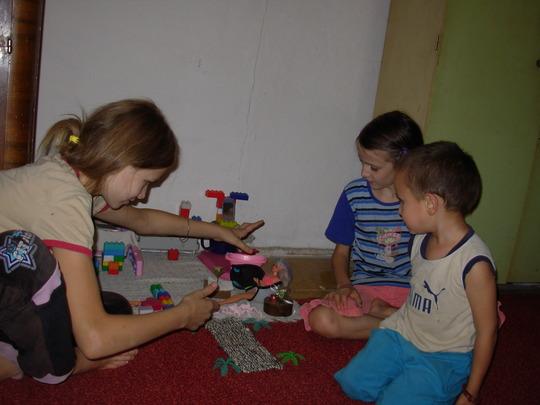 Safe childhood - Milica, Kristina and Nemanja
