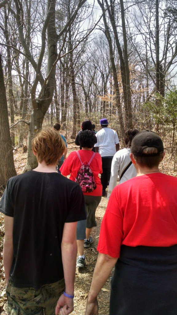 Mentoring hike
