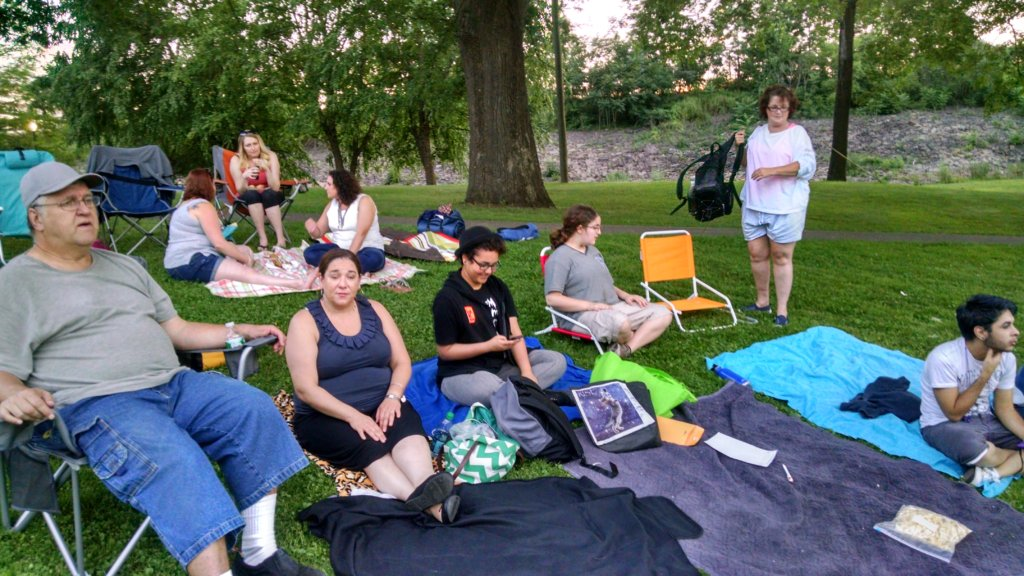 Mentoring in the park