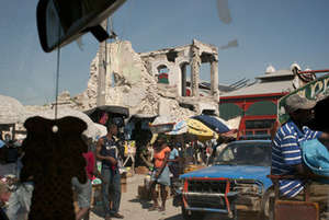 downtwon Port au-Prince, Haiti- 2011
