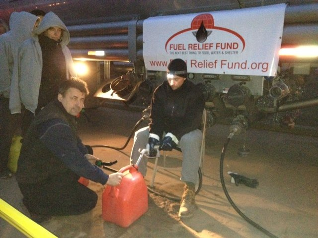 Hurricane Sandy - Fuel Relief Fund