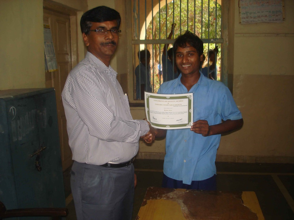 Certificate on Completion