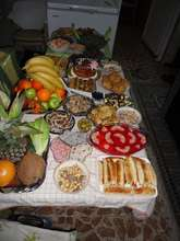 Food to celebrate the festive season.