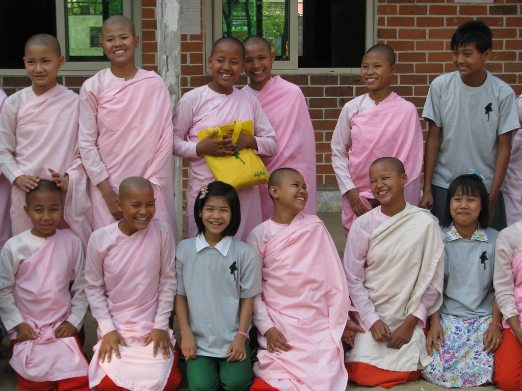 Girls in a Buddhist nunnery end discrimination