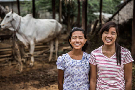 Help put girls at the forefront of change in Burma