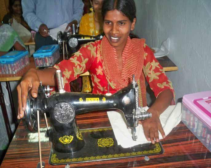 Reports on Empower 30 Women in Borabanda slum for Hyderabad