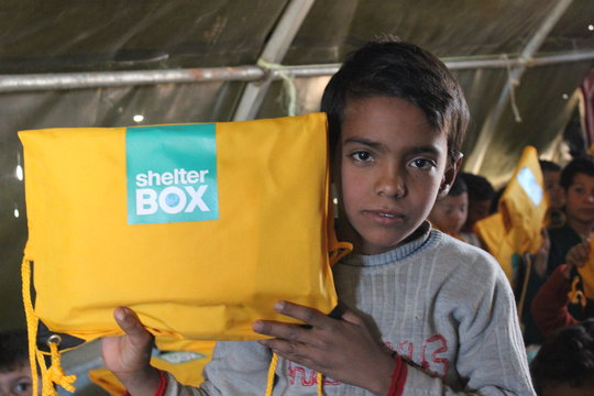 SchoolBoxes in Syria