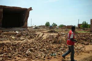 Sudan flooding leaves thousands homeless