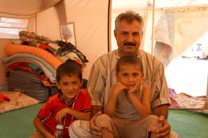 Syrian families recieve ShelterBox aid