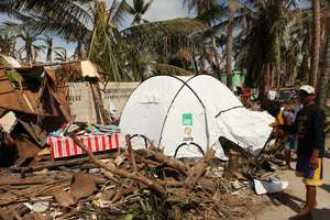 Typhoon Haiyan destruction