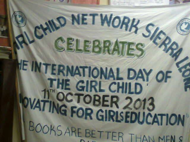 UN Day of the girl child-Sierra Leone