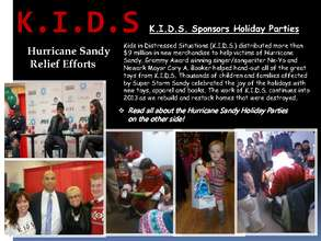 Hurricane Sandy December 2012 Holiday Parties (PDF)