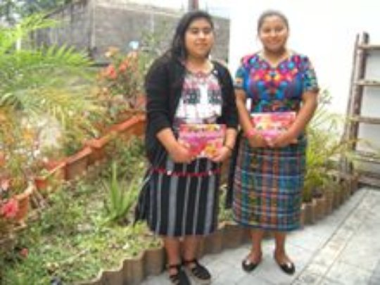Margarita and Yessica 2019 junior high graduates