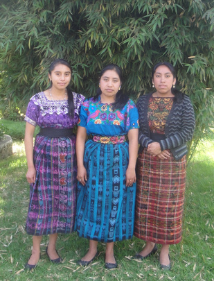 2014 Graduates: Adela, Reina, and Sandra