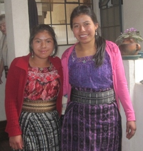 Manuela and Clara of Santa Clara la Laguna