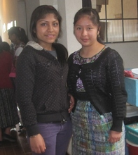 Lily of Yepocapa & Paula of San Juan Comalapa