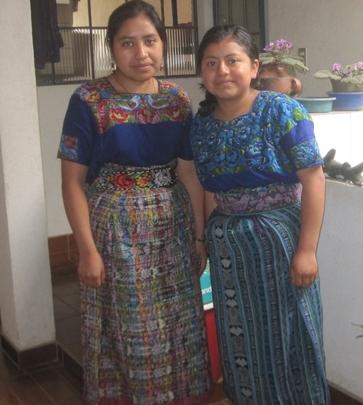 Reina and Sandra of Tecpan