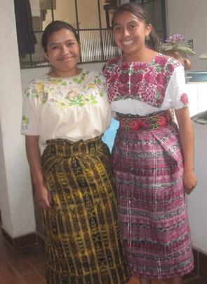 Catarina of Panajachel & Adela of Tecpan