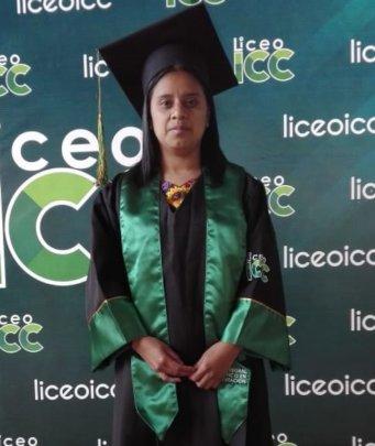 Mayra at Graduation
