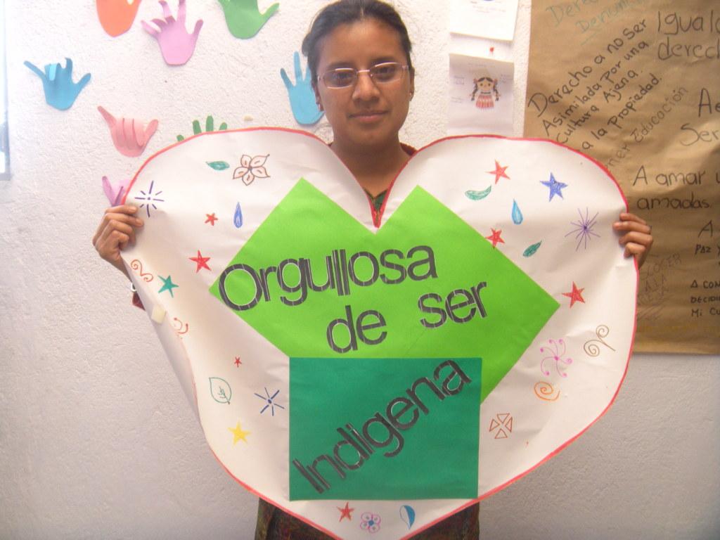 Mayra Proud to Be Indigenous