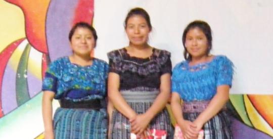 Sandra, Clara, and Glenda pictured