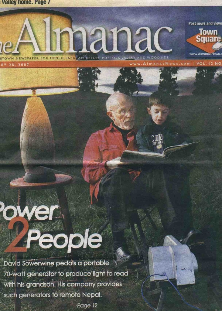 Picture on cover of Almanac