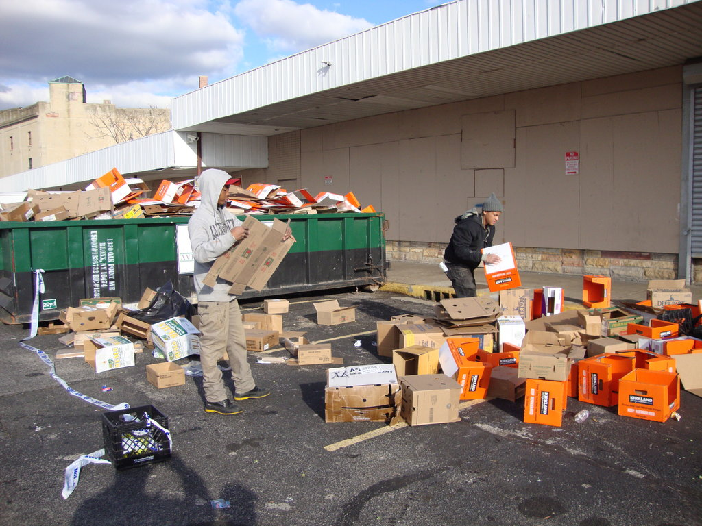 "NYC's First-In Food Team Behind Hyperstorm ""Sandy"""