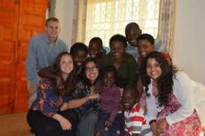Our GROW Team with their Adonai Family