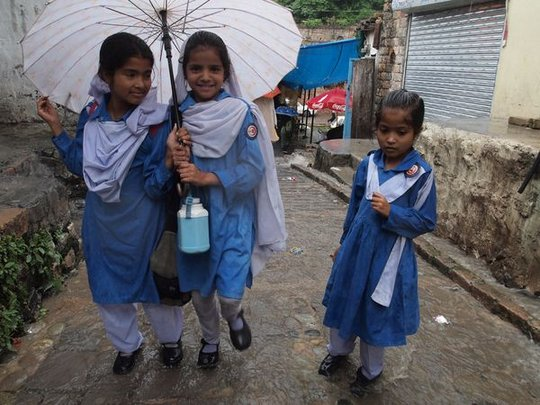 Schoolgirls, Said Pur Village: Faryal Mohmand