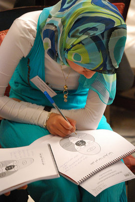 Egyptian woman participates in Internews workshop
