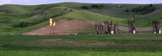 One of Many Oil Wells in North Dakota