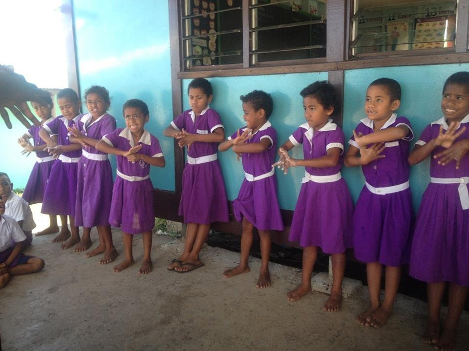 Hand washing lessons