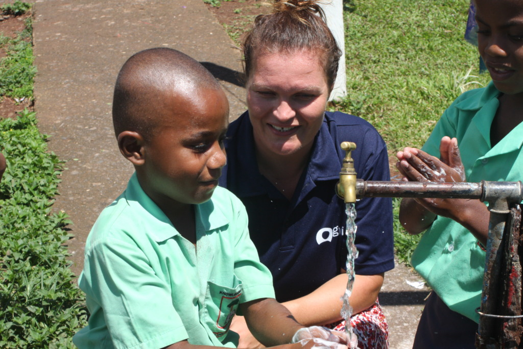 Promoting hand washing and hygiene