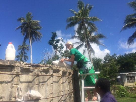 Give access to water & sanitation services in Fiji