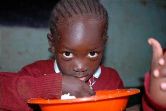 Feed a vulnerable child for a year