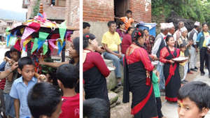 Festivals in Nepal are community and family events