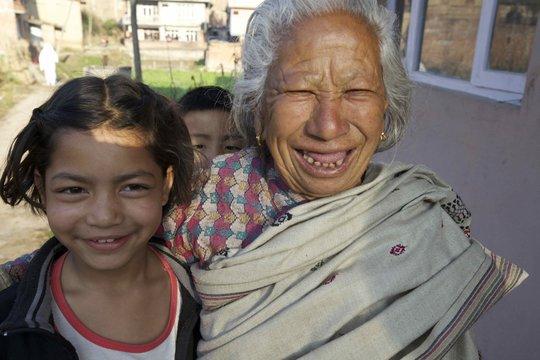 Anita & 'Grandma'