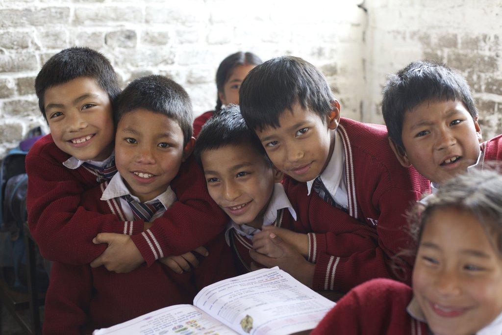 Rakesh and his school friends