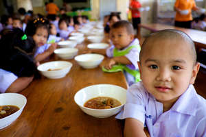 Lunchtime at our Mercy Kindergartens