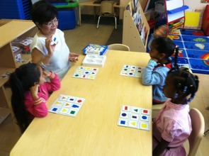 Time to Play Bingo to Learn Shapes & Colors